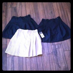 Chaps Uniform Skort